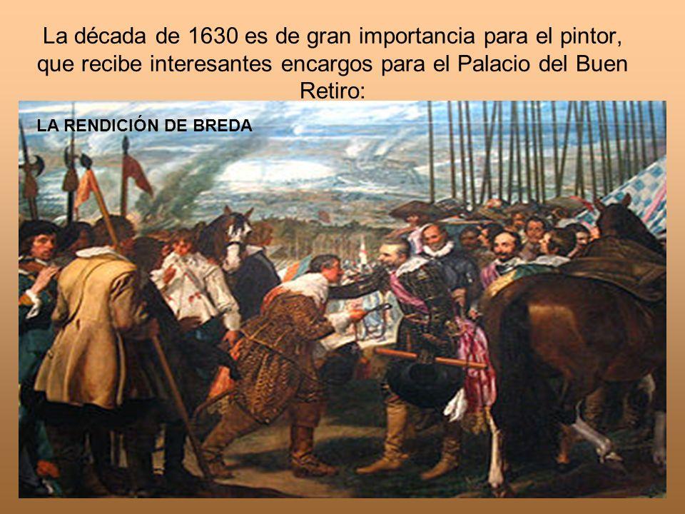 La década de 1630 es de gran importancia para el pintor, que recibe interesantes encargos para el Palacio del Buen Retiro: