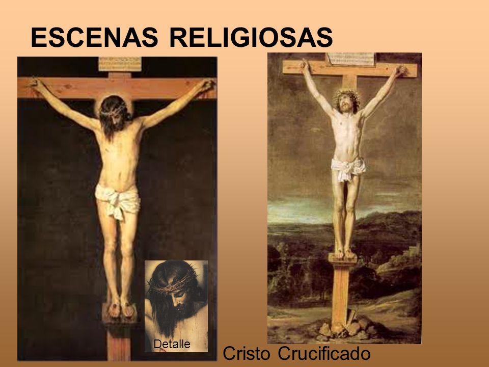 Escenas religiosas Detalle Cristo Crucificado