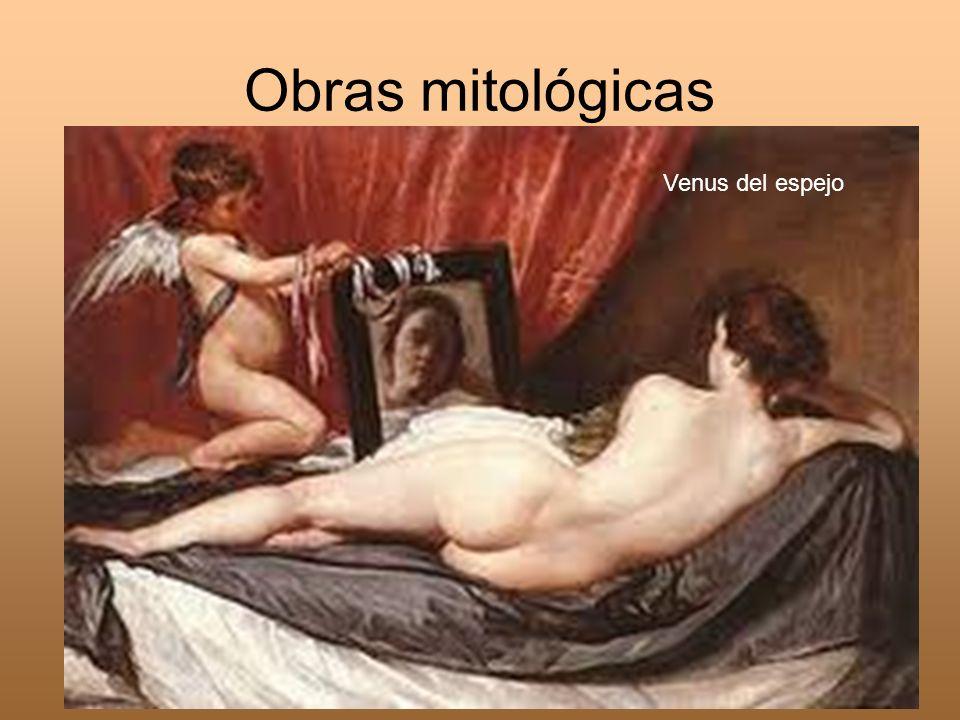 Obras mitológicas Venus del espejo