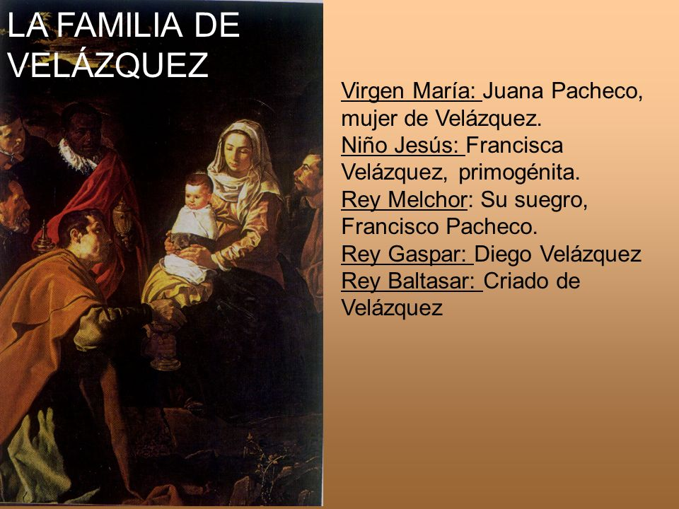 LA FAMILIA DE VELÁZQUEZ
