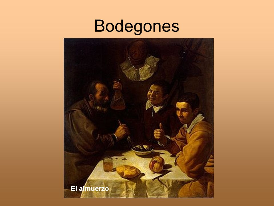 Bodegones El almuerzo