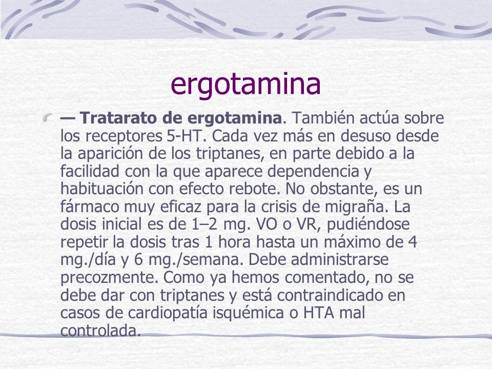 ergotamina