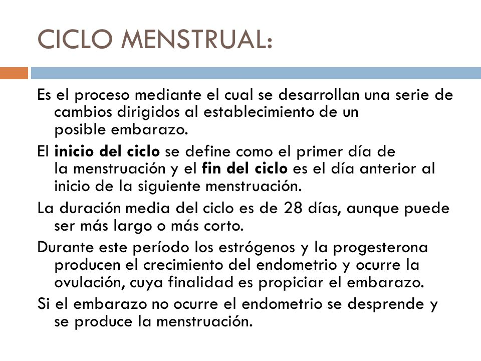 CICLO MENSTRUAL. - ppt video online descargar