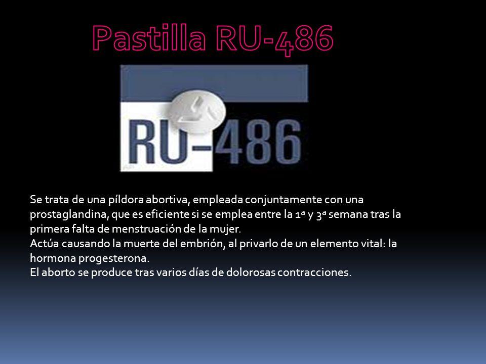 Pastilla RU-486