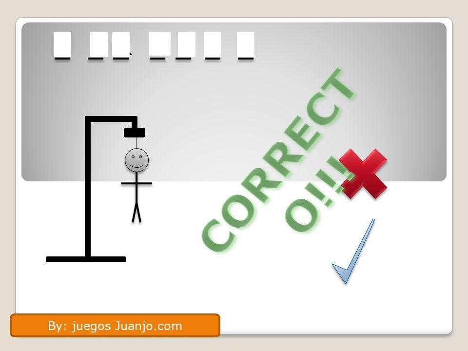 H O R M O N A CORRECTO!!! By: juegos Juanjo.com