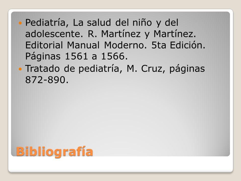 Pediatría, La salud del niño y del adolescente. R. Martínez y Martínez