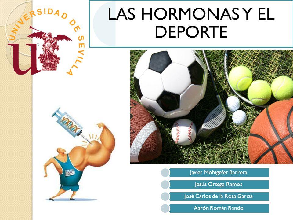 LAS HORMONAS Y EL DEPORTE