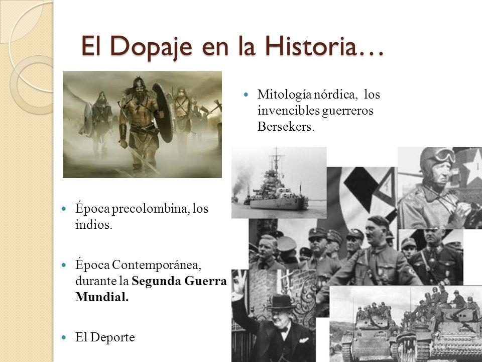 El Dopaje en la Historia…