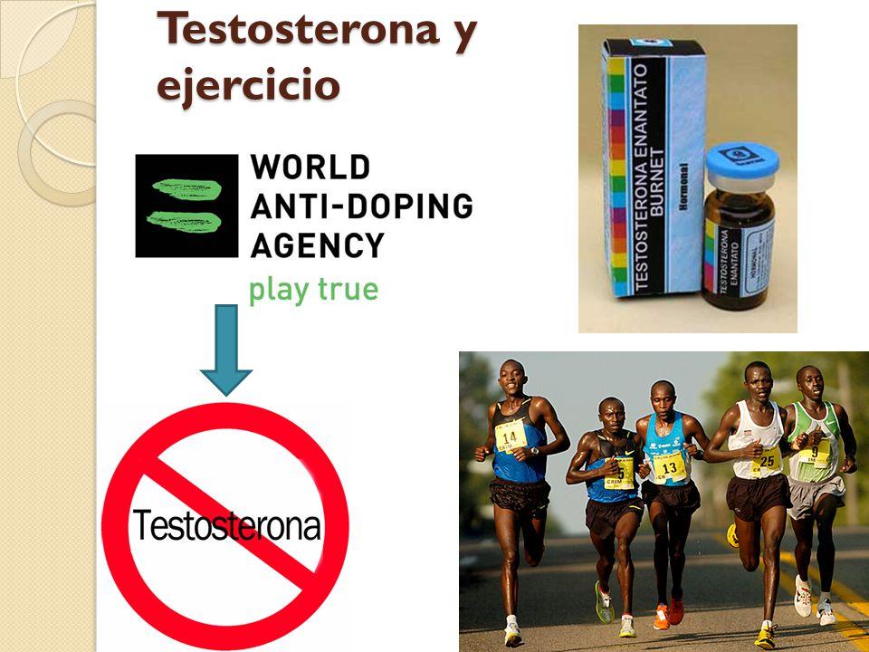 Testosterona y ejercicio