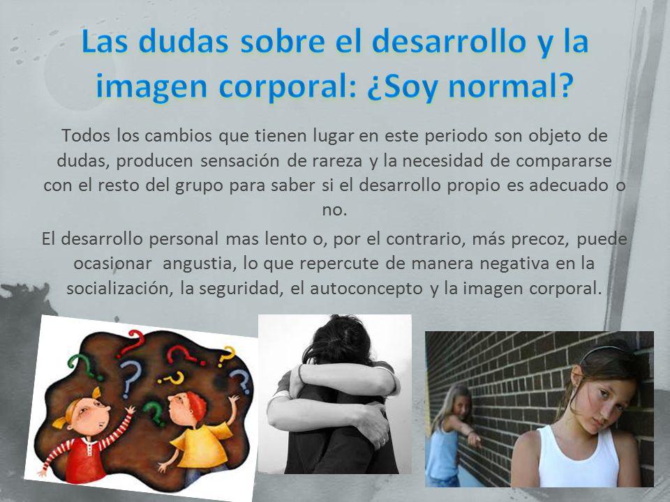 Las dudas sobre el desarrollo y la imagen corporal: ¿Soy normal