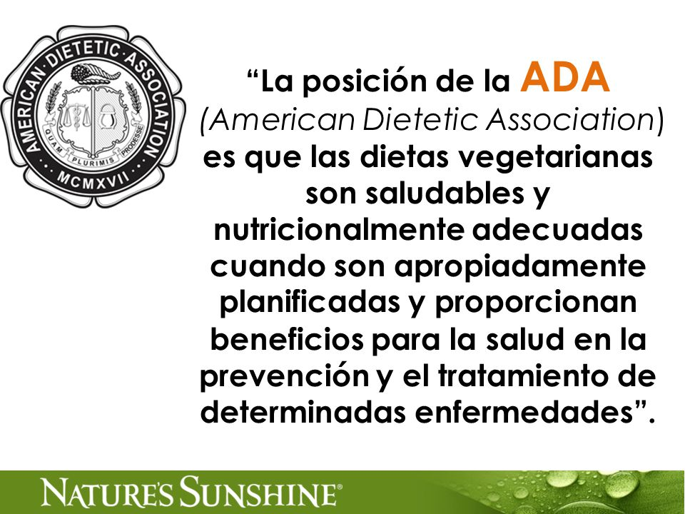 (American Dietetic Association)