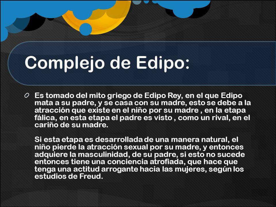 Complejo de Edipo:
