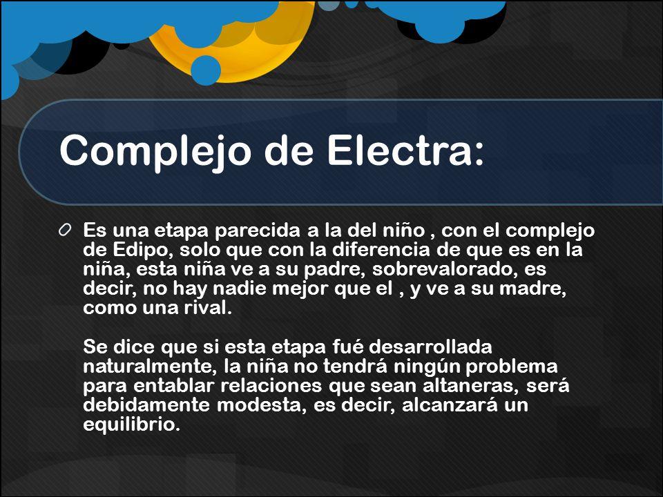 Complejo de Electra: