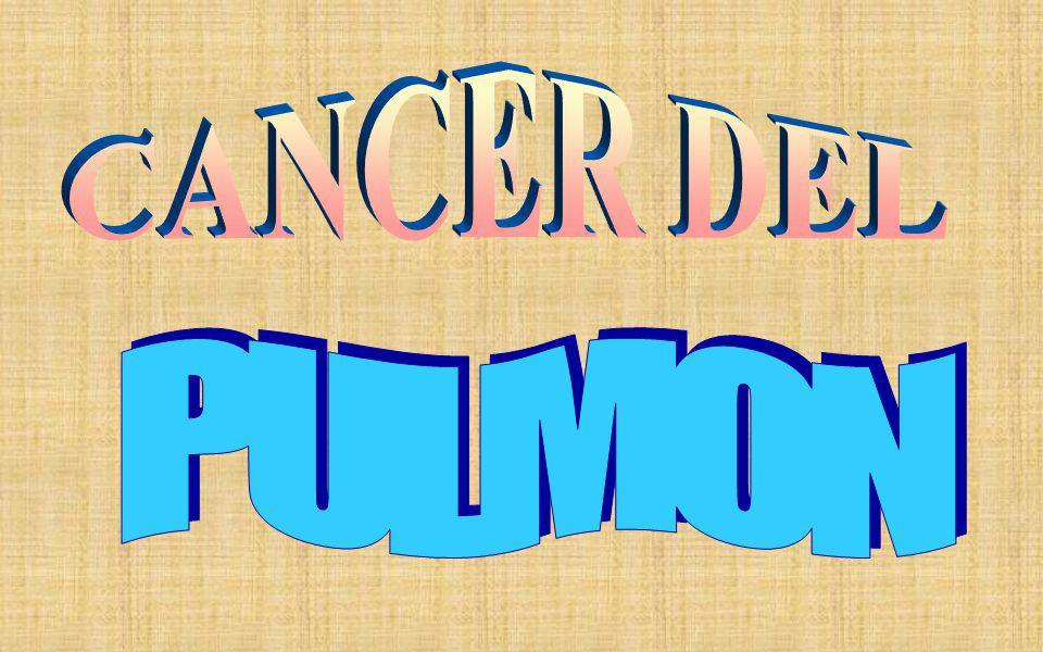 CANCER DEL PULMON