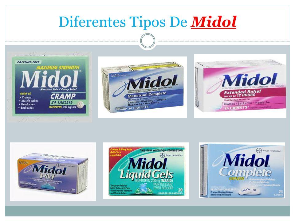 Diferentes Tipos De Midol