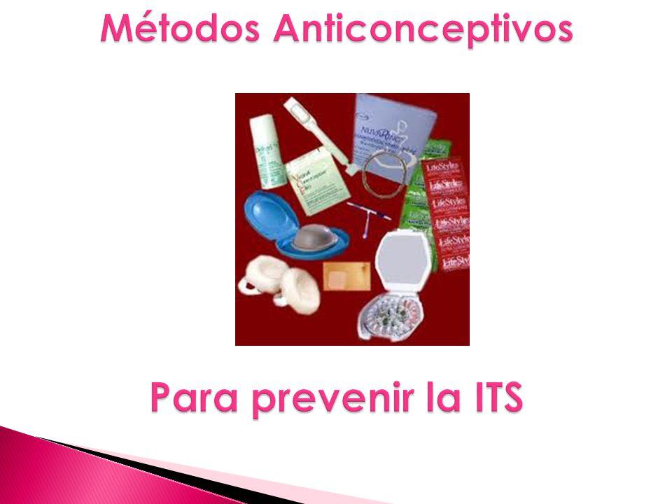 Métodos Anticonceptivos Para prevenir la ITS