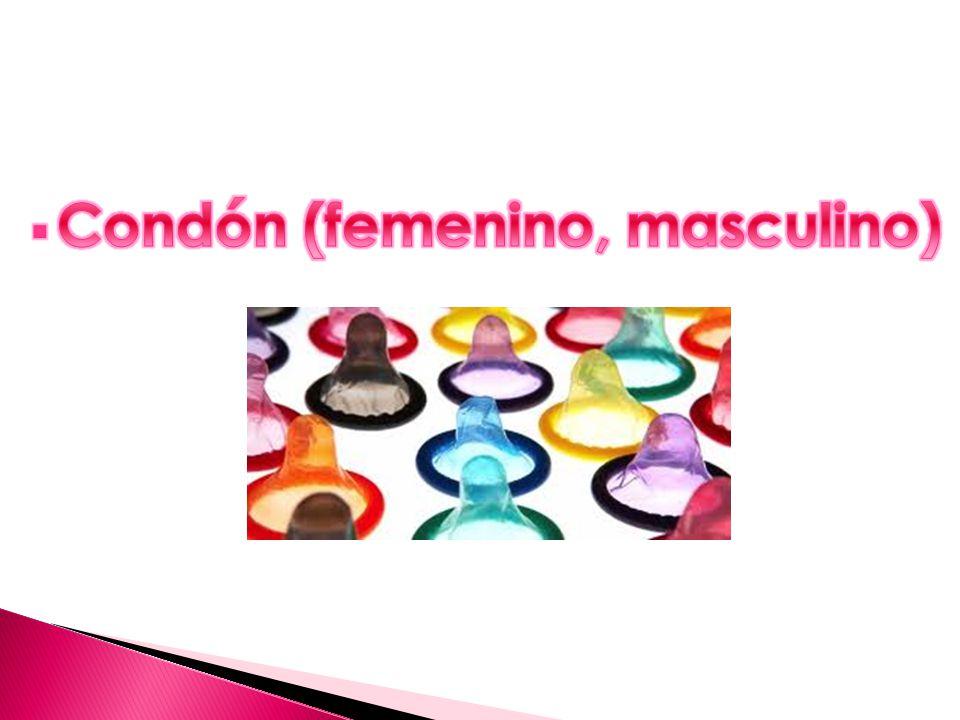 Condón (femenino, masculino)