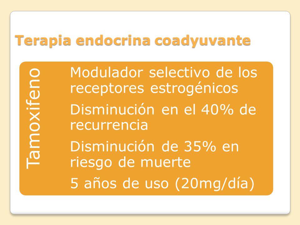 Terapia endocrina coadyuvante