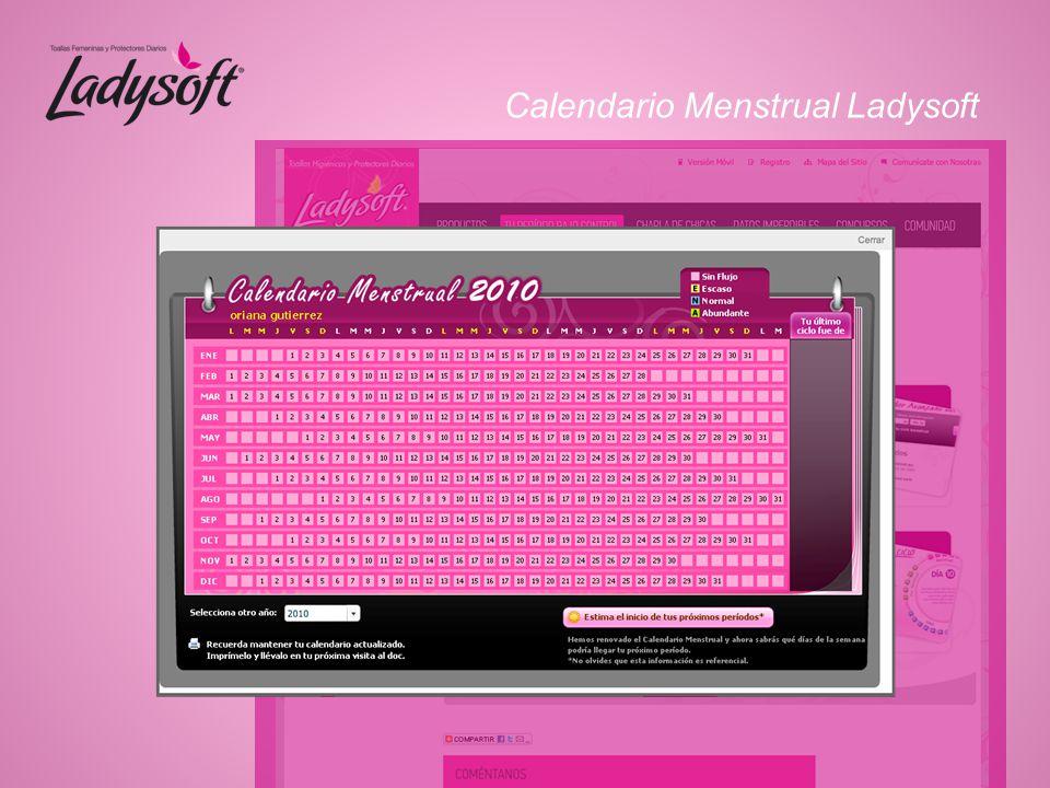 Calendario Menstrual Ladysoft