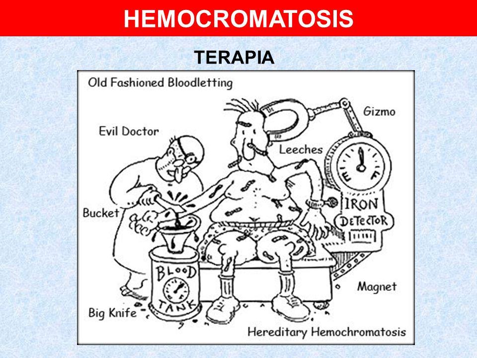 HEMOCROMATOSIS TERAPIA