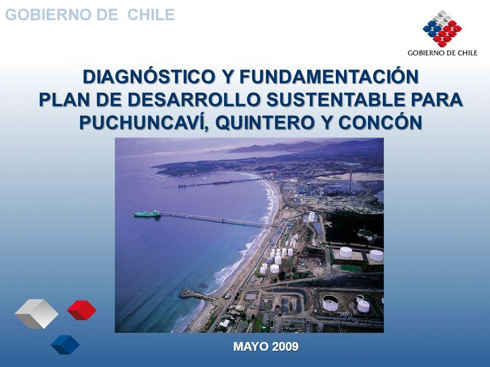 DIAGNÓSTICO Y FUNDAMENTACIÓN PLAN DE DESARROLLO SUSTENTABLE PARA PUCHUNCAVÍ, QUINTERO Y CONCÓN