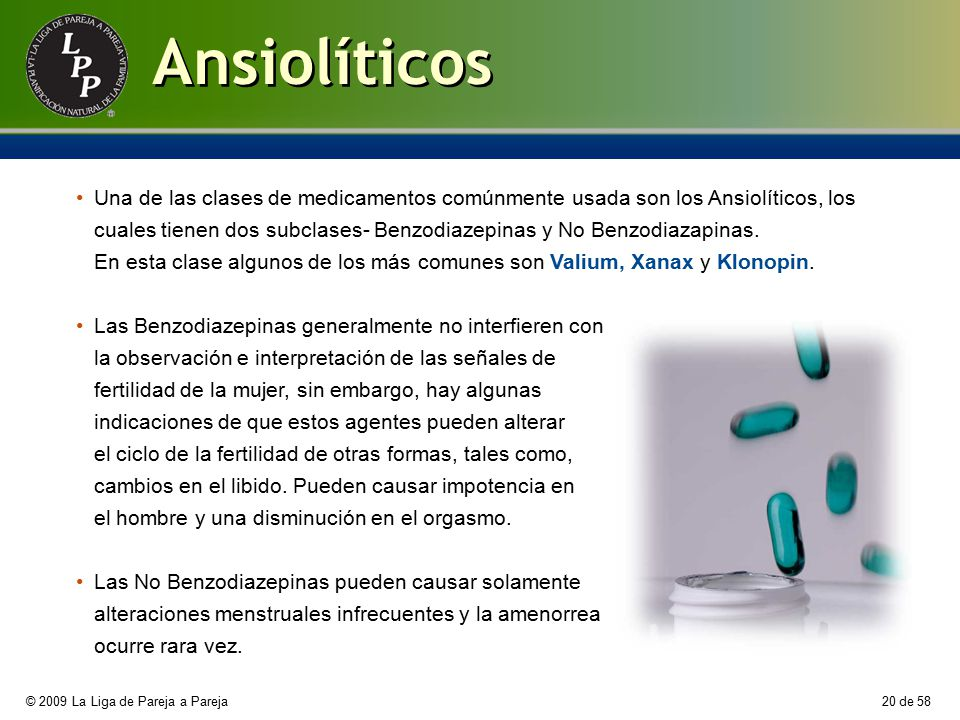 Ansiolíticos