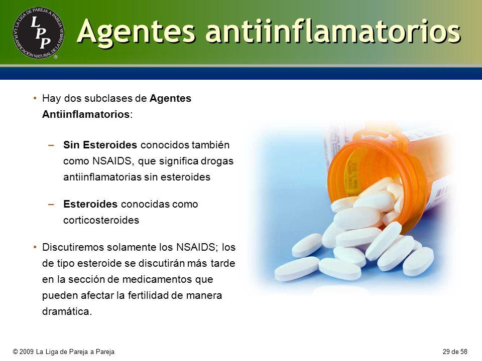 Agentes antiinflamatorios