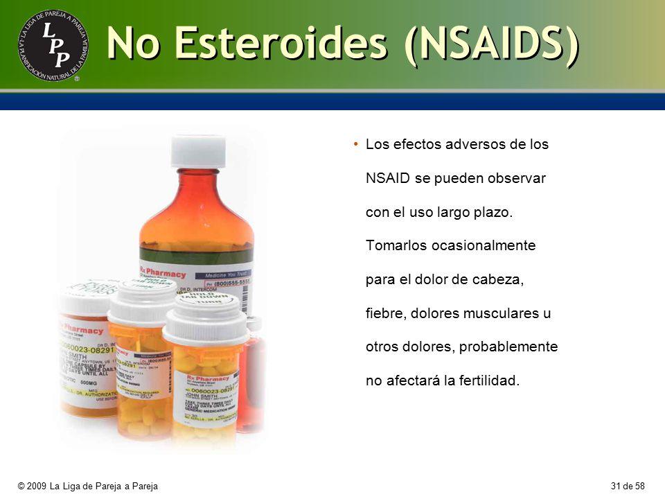 No Esteroides (NSAIDS)