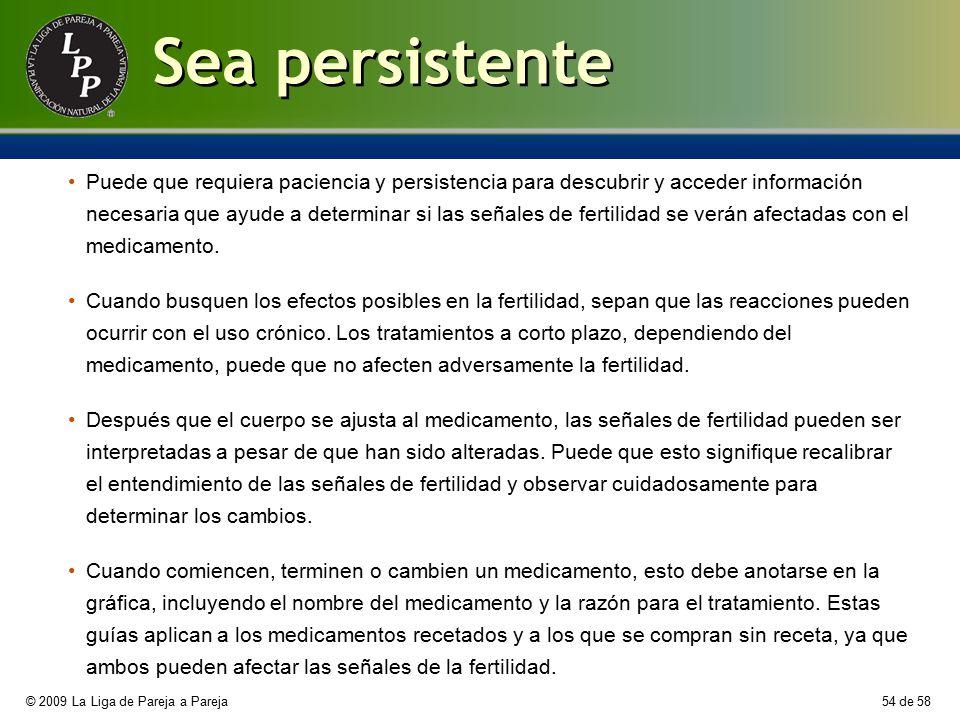 Sea persistente