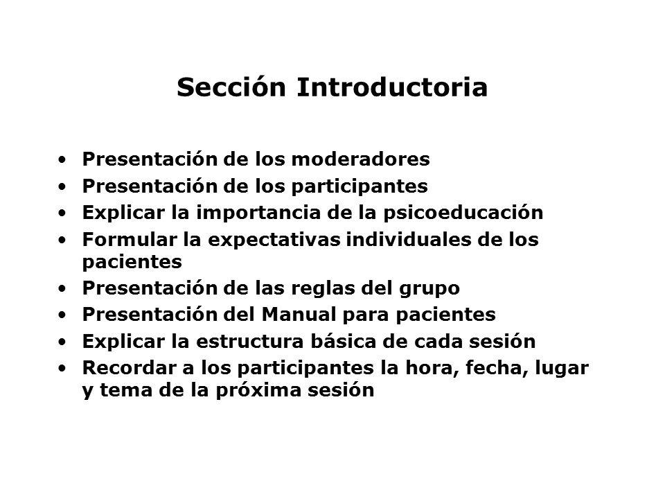 Sección Introductoria