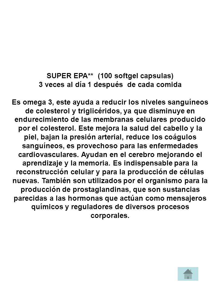 SUPER EPA** (100 softgel capsulas)