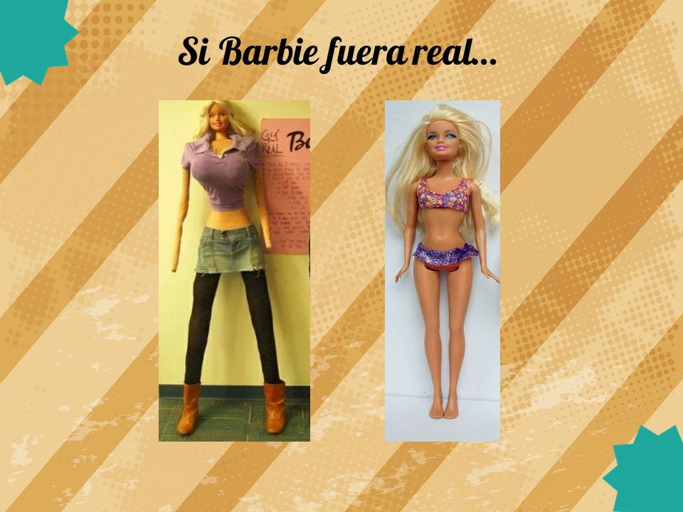 Si Barbie fuera real…