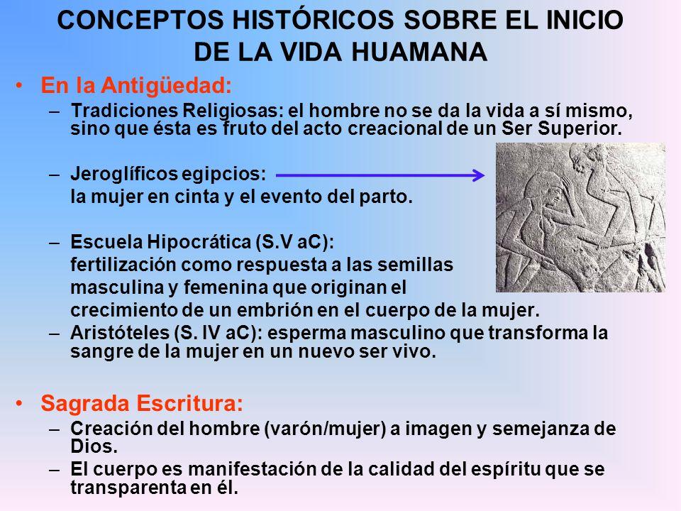 CONCEPTOS HISTÓRICOS SOBRE EL INICIO DE LA VIDA HUAMANA
