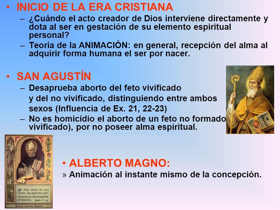 INICIO DE LA ERA CRISTIANA