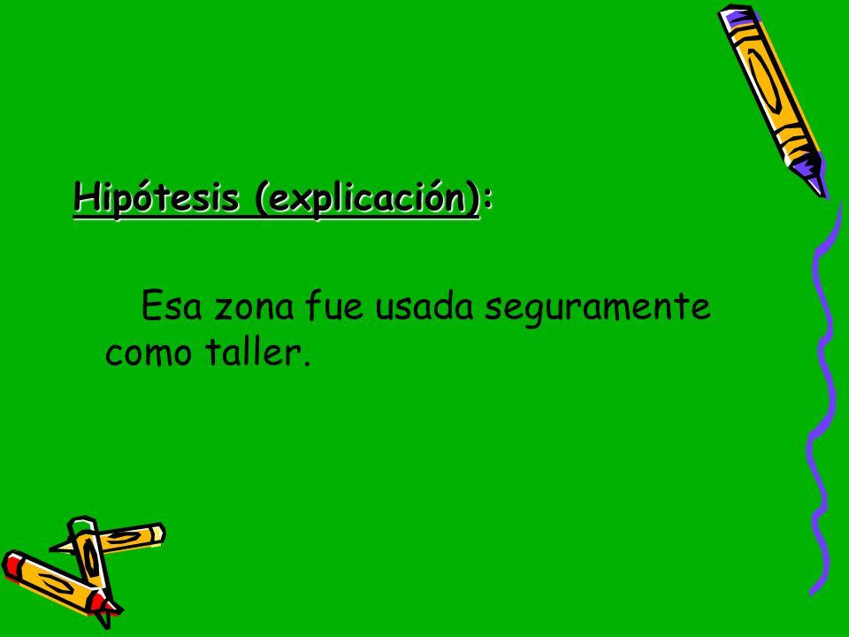 Hipótesis (explicación):