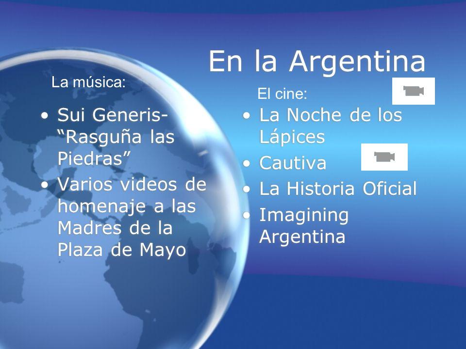 En la Argentina Sui Generis- Rasguña las Piedras