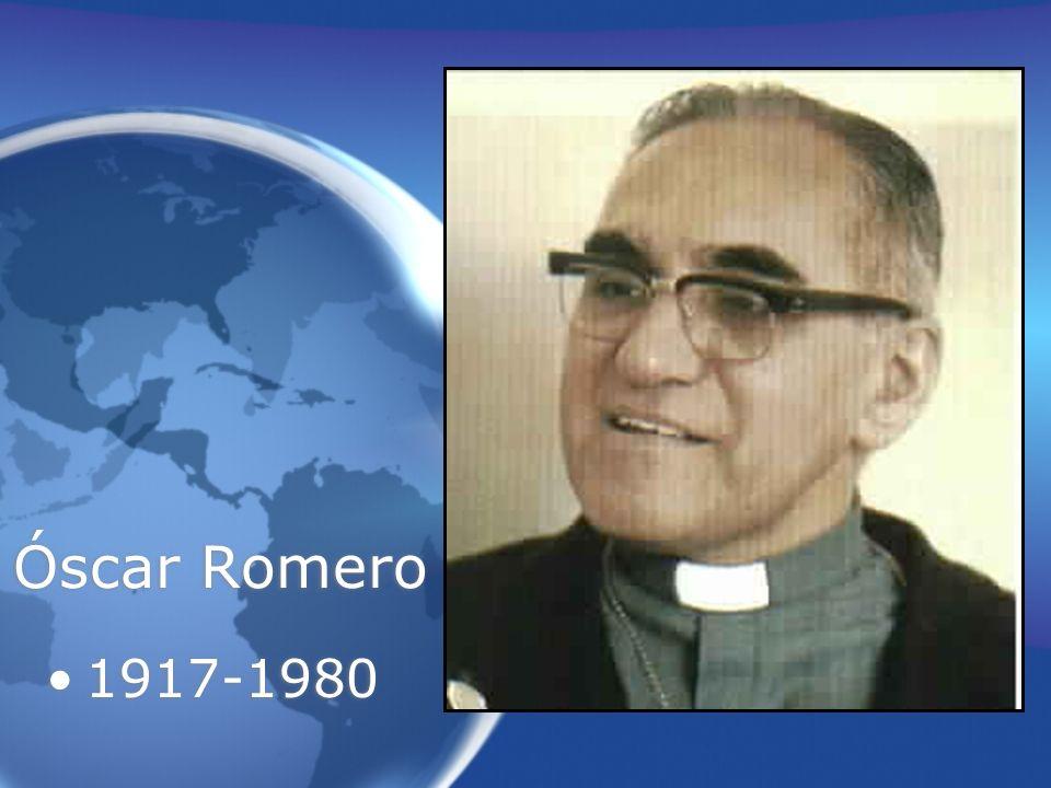 Óscar Romero 1917-1980