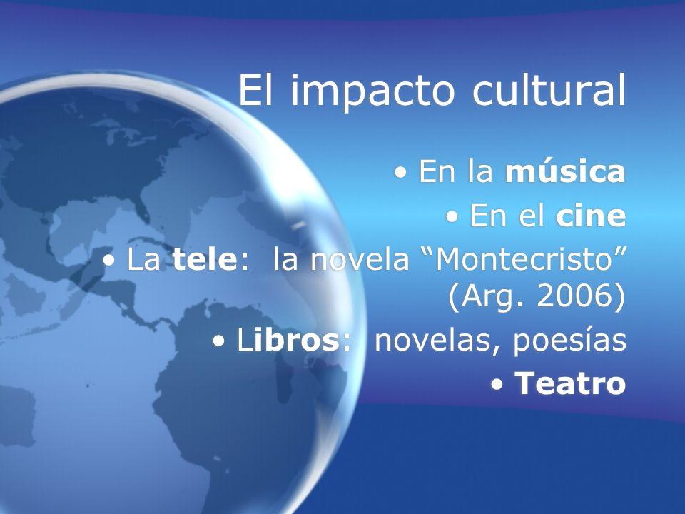 El impacto cultural En la música En el cine