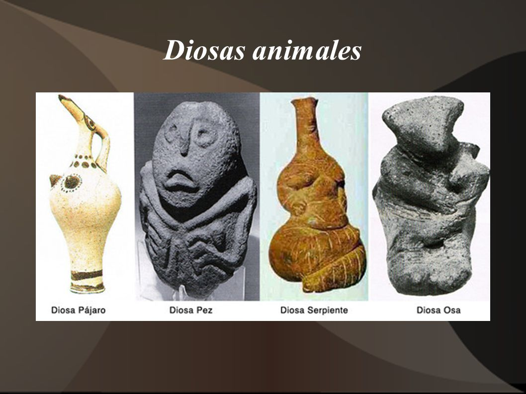 Diosas animales