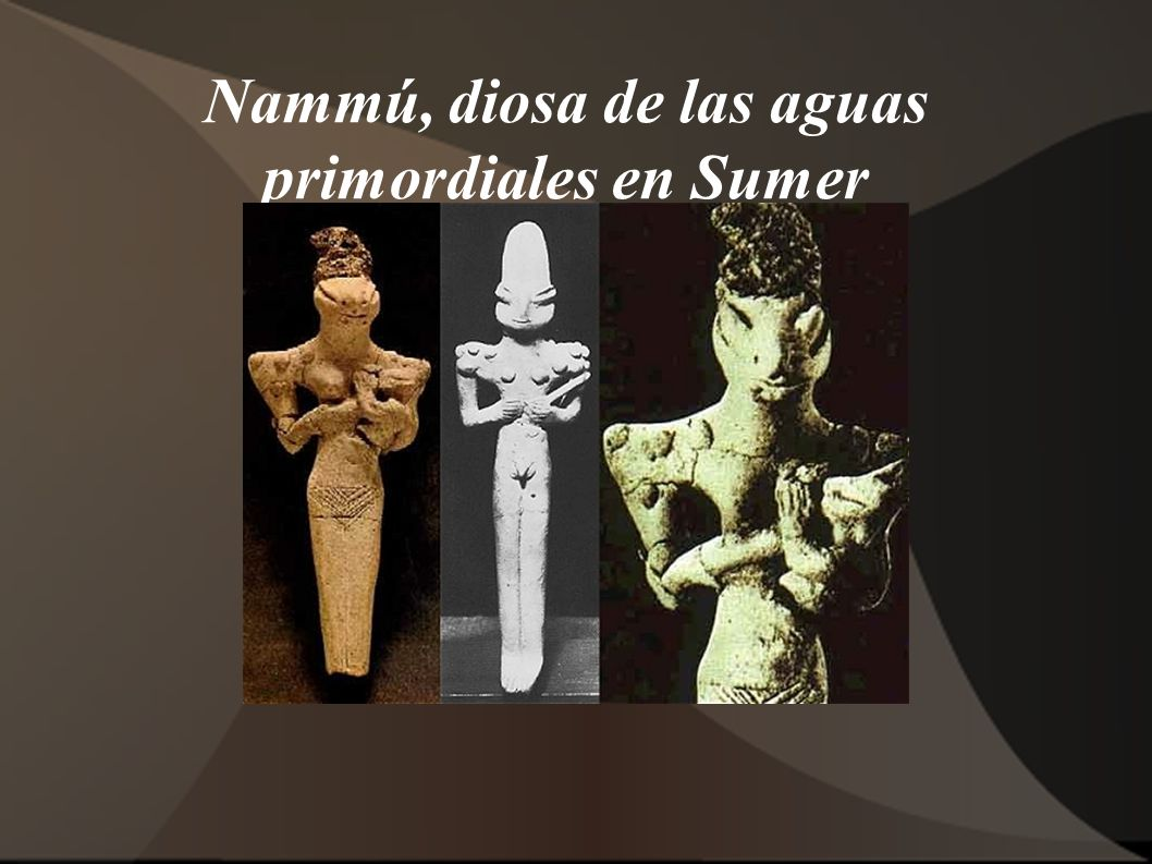 Nammú, diosa de las aguas primordiales en Sumer