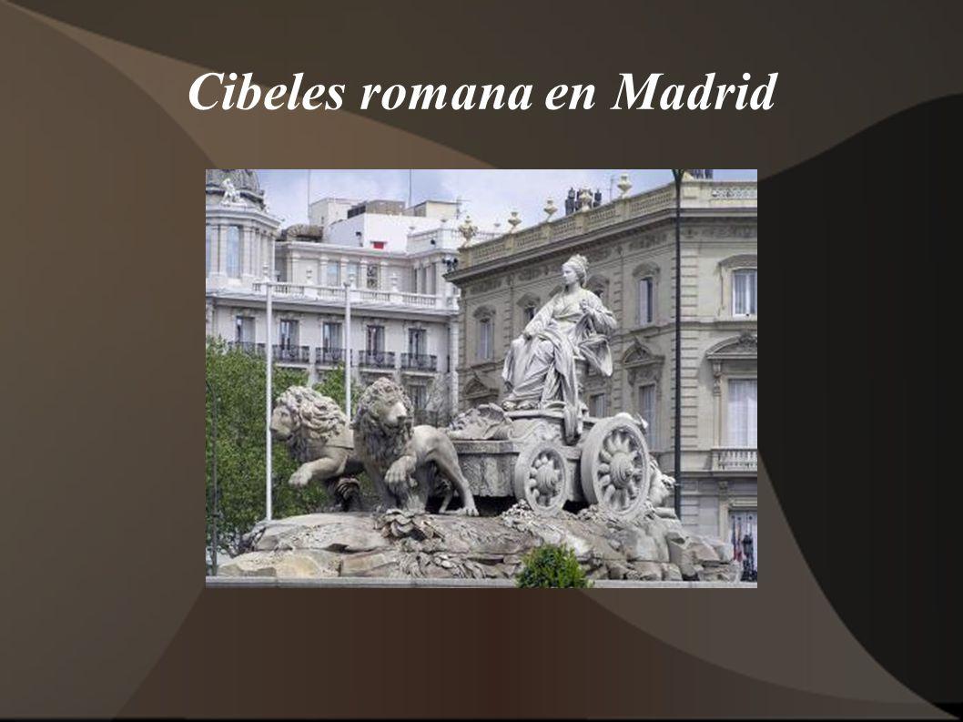 Cibeles romana en Madrid