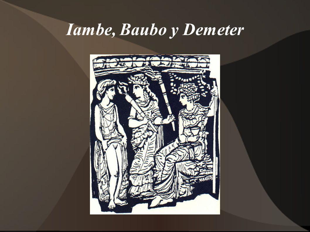 Iambe, Baubo y Demeter