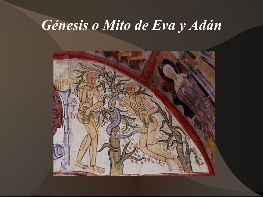 Génesis o Mito de Eva y Adán