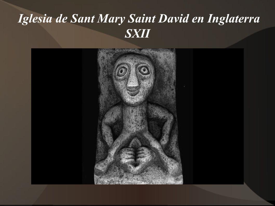 Iglesia de Sant Mary Saint David en Inglaterra SXII