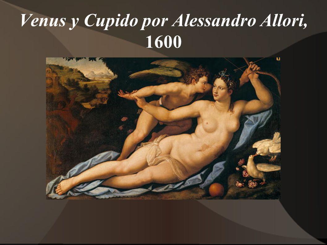 Venus y Cupido por Alessandro Allori, 1600