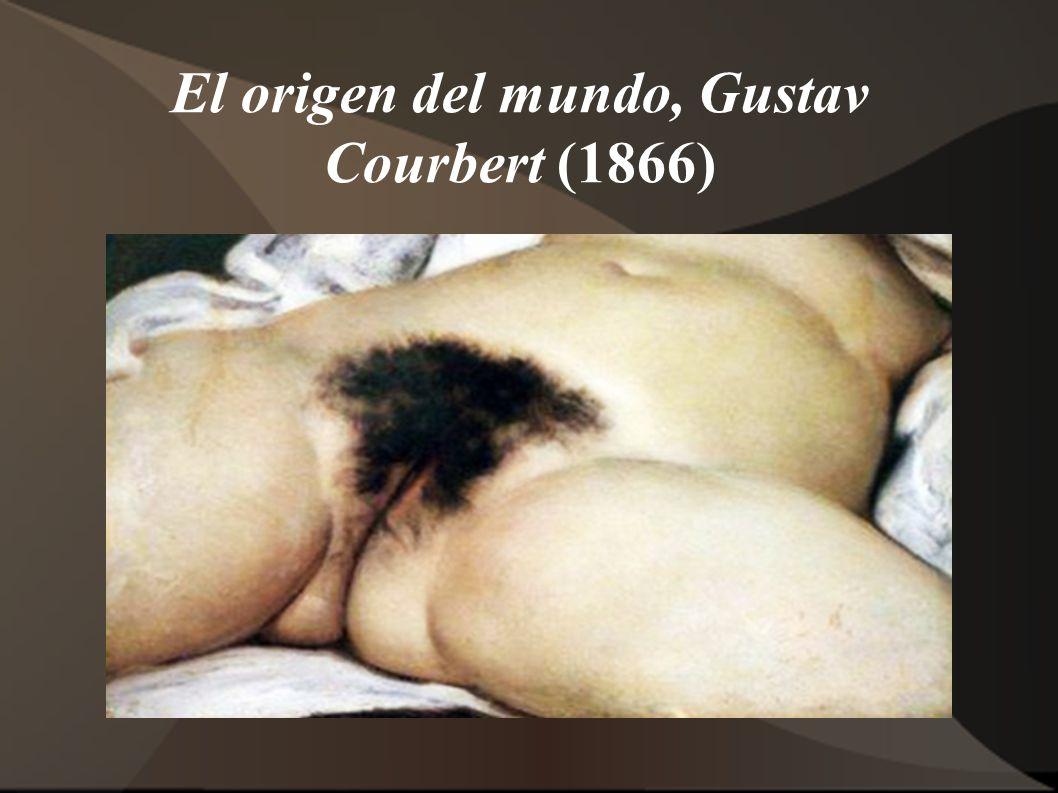 El origen del mundo, Gustav Courbert (1866)