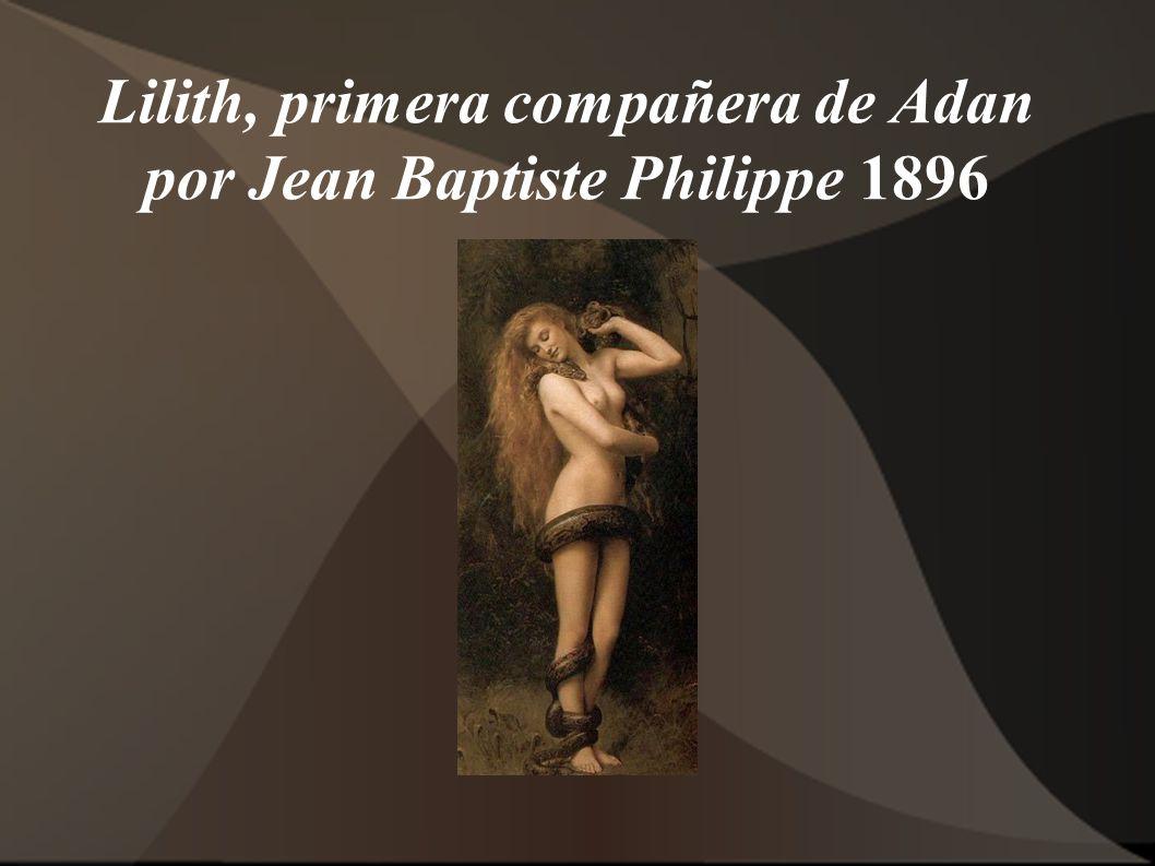 Lilith, primera compañera de Adan por Jean Baptiste Philippe 1896