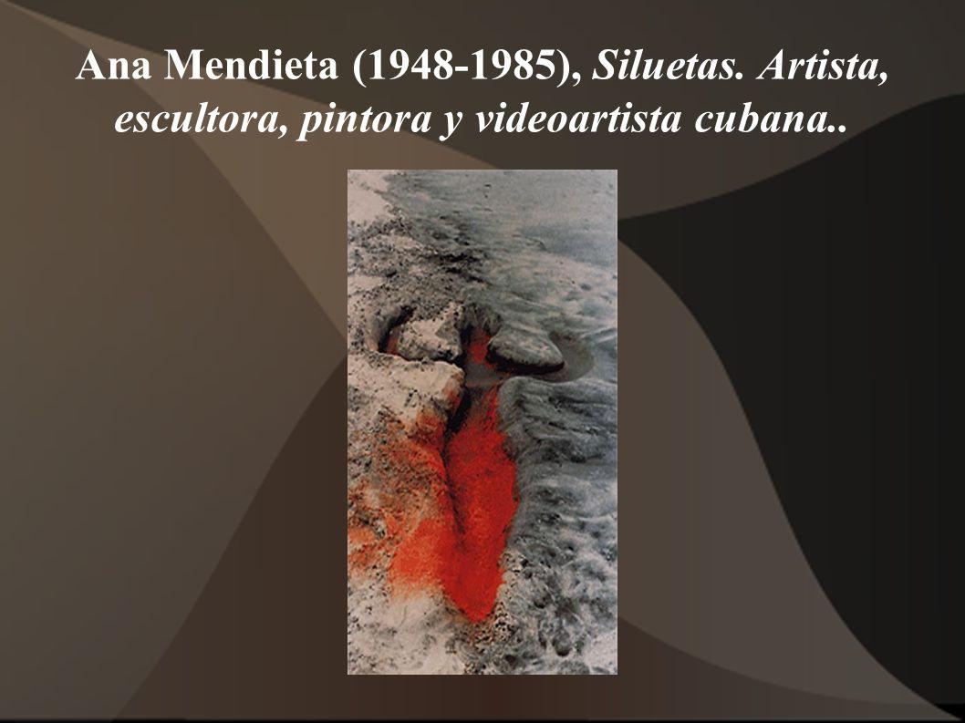 Ana Mendieta (1948-1985), Siluetas