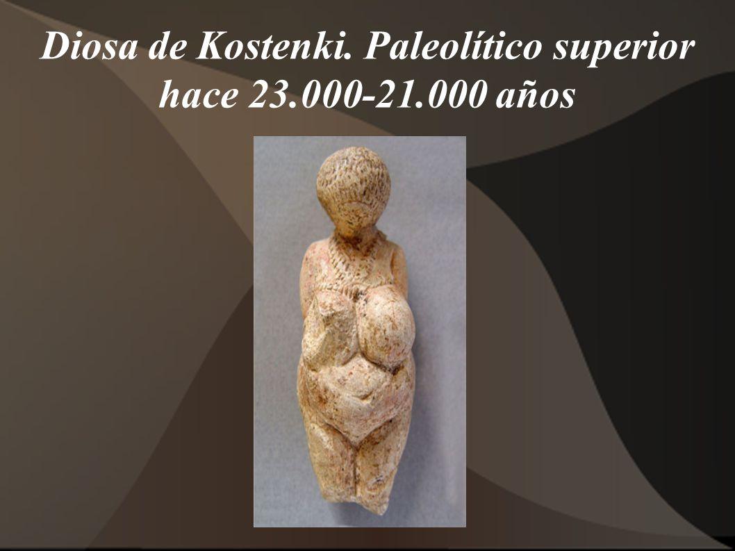 Diosa de Kostenki. Paleolítico superior hace 23.000-21.000 años