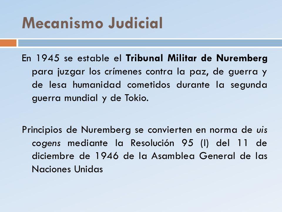 Mecanismo Judicial